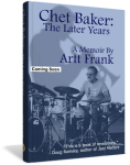 3D cover for Chet Baker: The Later Years